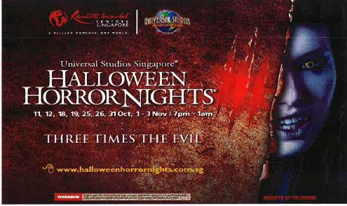 Halloween Horror Night 3 (Photo from rwsentosa.com)
