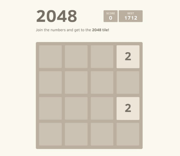 Follow these tips to beat the 2048 Game. (Image from www.bgr.in)