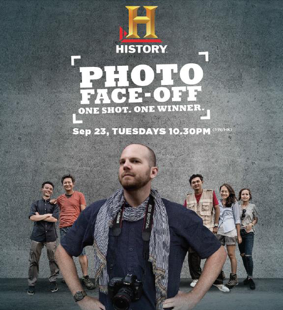 Catch photography like you have never seen it before - on Photo Face Off. (Image: HISTORY).