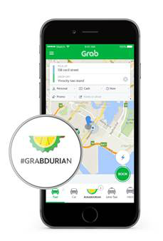 GrabDurian will be on a first-come-first-serve basis.