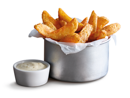Swap your Fries with Wedges.