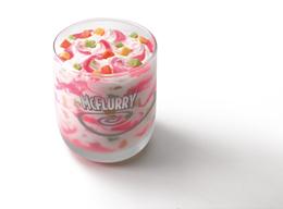 Strawberry Cheesecake McFlurry.