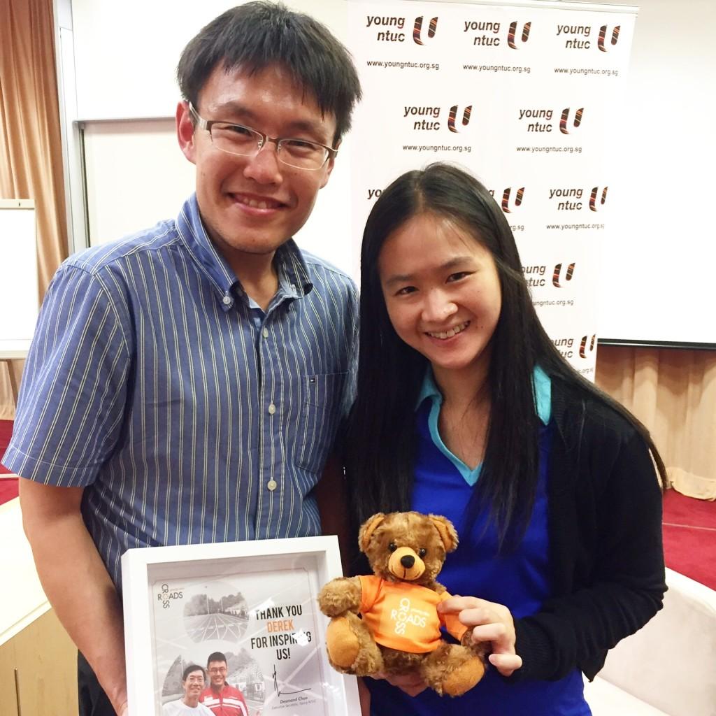 Dr Derek Li (left).