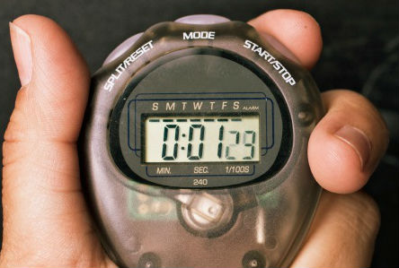 Do interval trainings based on your heart rate too, not only the watch. (image from womensnutritionsecrets.com)