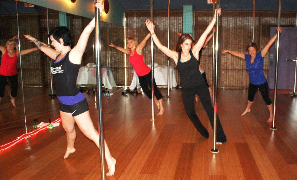 People of all walks of life can pick up pole dancing. (Source: zensualdance.com)