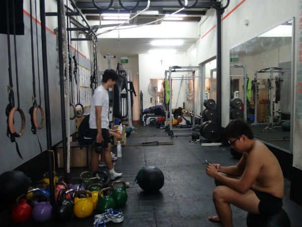 Iron Fitness Singapore: Not for the faint-hearted.