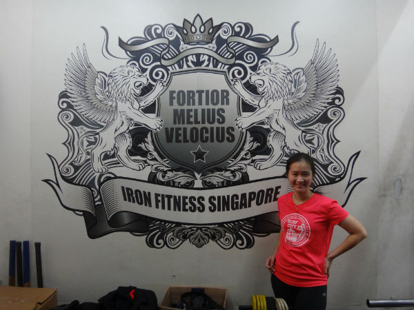 "I ""survived"" Iron Fitness Singapore."
