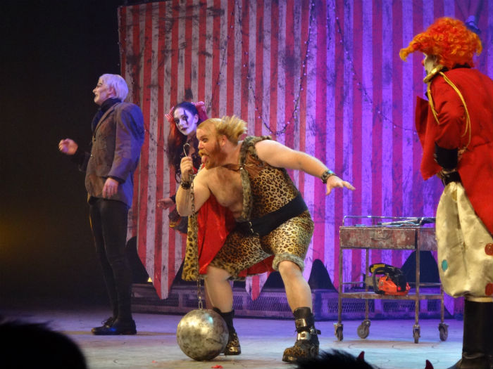 Jack's Nightmare Circus is no ordinary fun circus.