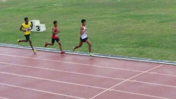 Running at the recent Johor Bahru Track open 2014.