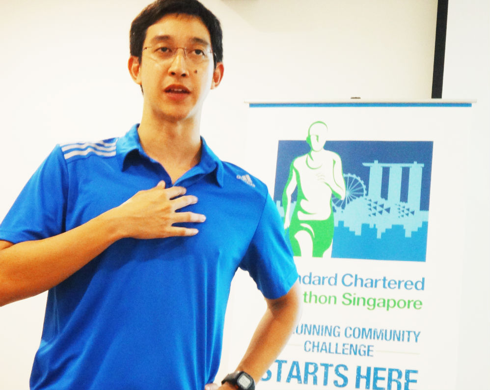 Some tips were given by Jon Fong of Journey Fitness Company.