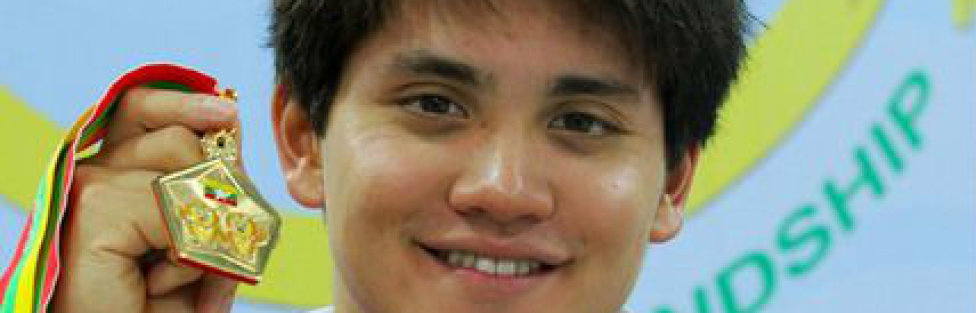 Joseph Schooling: Five Swimming Golds at the 2013 SEA Games