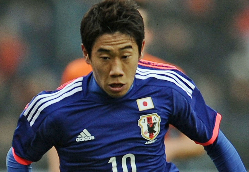 Man U fans want to see Japan's Kagawa make the trip. (Image Credit: www.dfb.de)