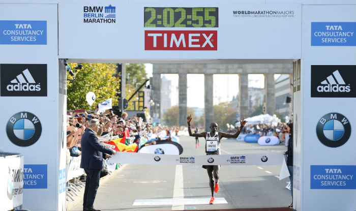 Kimetto's record-breaking Berlin Marathon win is no mean feat. (Credit: adidas)