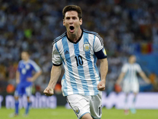 Messi is finally showing his true colours on the international stage. Can the Oranje find their way past him? (Image: sports.ndtv.com)