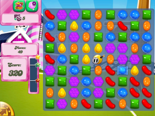 Candy Crush Level 245.