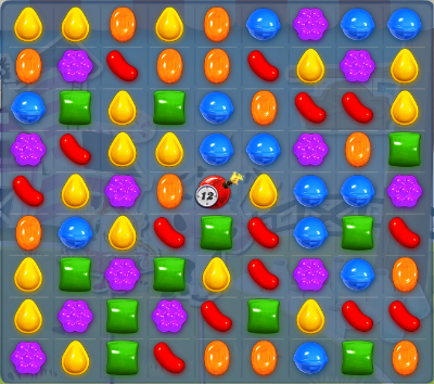 Level 245 is not impossible to beat in Candy Crush Saga. (Taken from Candy-Crush-Wiki)