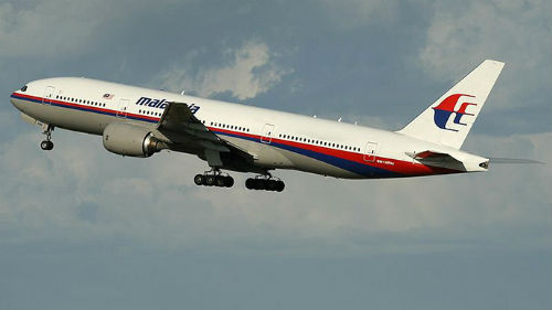 Malaysia Airlines Flight MH370 disappeared without a trace.