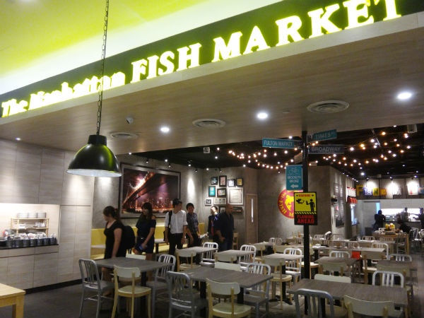 Manhattan 006: New Dish at the Manhattan Fish Market ...