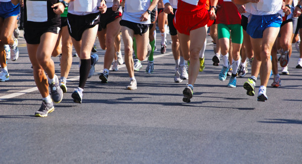 Marathon runners taking part in the marathon. (Photo: hotel373.com)