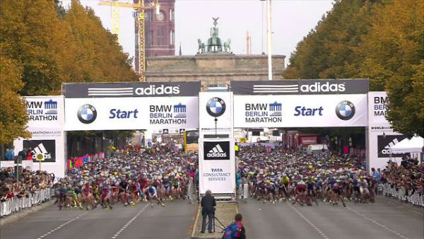 The record-breaking feat could very well be set at the Berlin Marathon. (Photo from Vimeo.com)