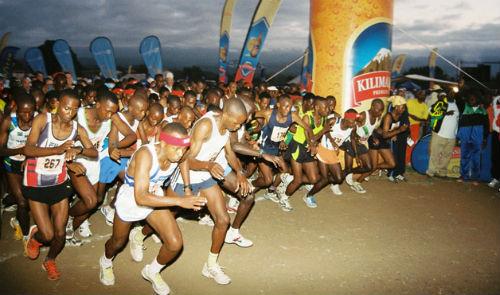 The Kilimanjaro Marathon. (Taken from privatekilimanjaro.com)