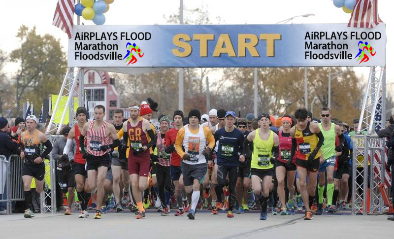 Mr John Foo took part in the Airplays Flood Marathon in the United States.