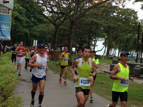 Tam may have gotten his moment of glory, but unlike him, these runners will feel true satisfaction when they complete the race.