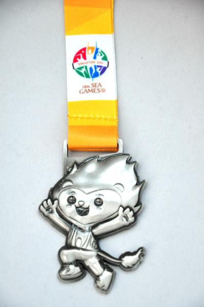 Super cute race medal!