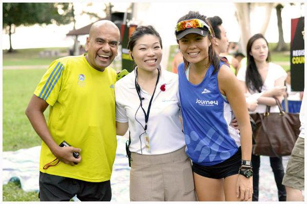Mohan Marathon (left) and Jayve Goh (right).