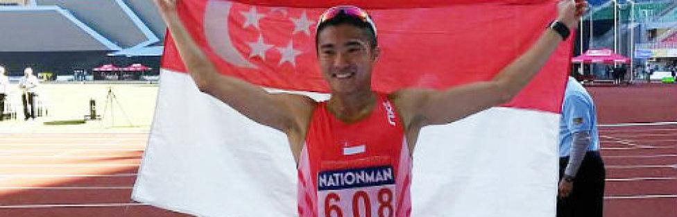 Mok Ying Ren Wins SEA Games Marathon Gold for Singapore