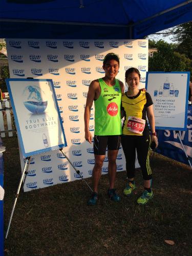 With Mok Ying Ren.