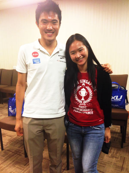 With the Sea Games Gold Medallist.