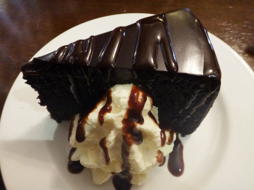 Chocolate Mud Cake.