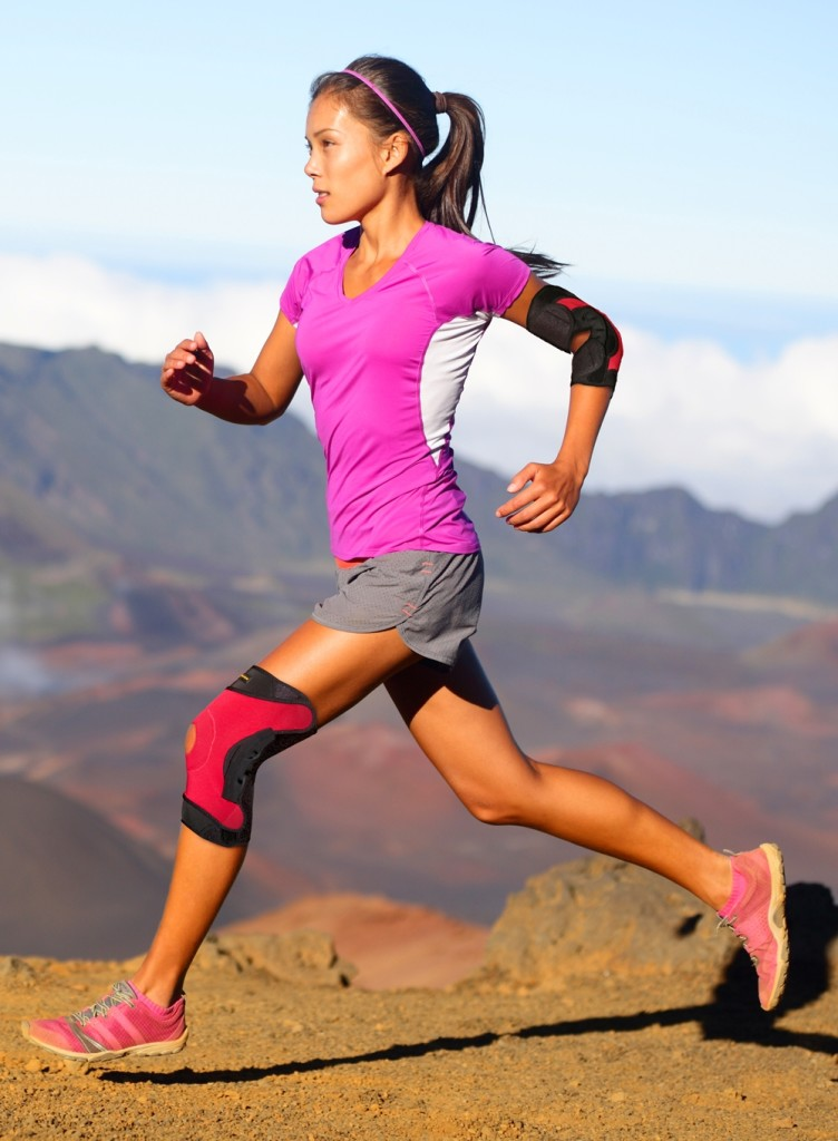 Listen to your body when you run. [Photo from www.pflexx.com]