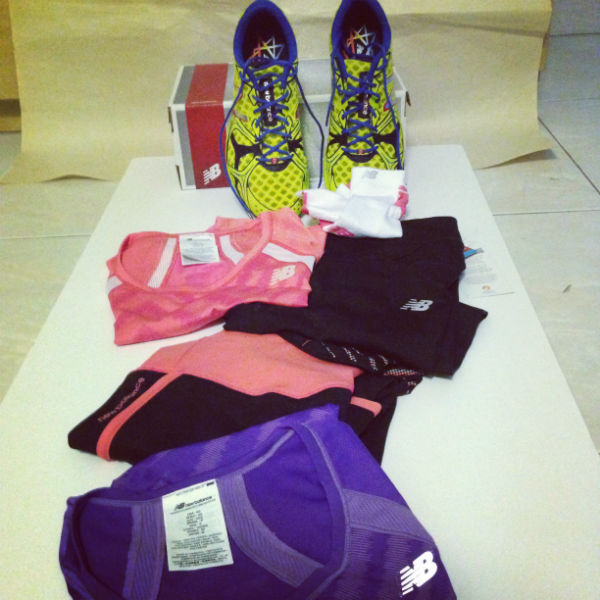 My New Balance sportswear!