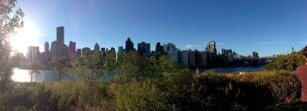 A panoramic view of The New York City skyline. (Photo: courtesy of Julia Matsuoka)