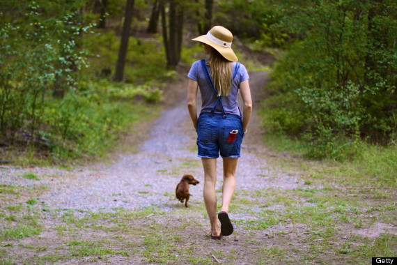 Walking is healthy for you. [photo from daintyprettyangel.blogspot.com]