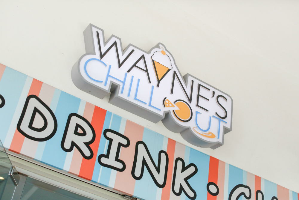 Wayne's ChillOut was the next stop of our Cafe Bike Crawl.
