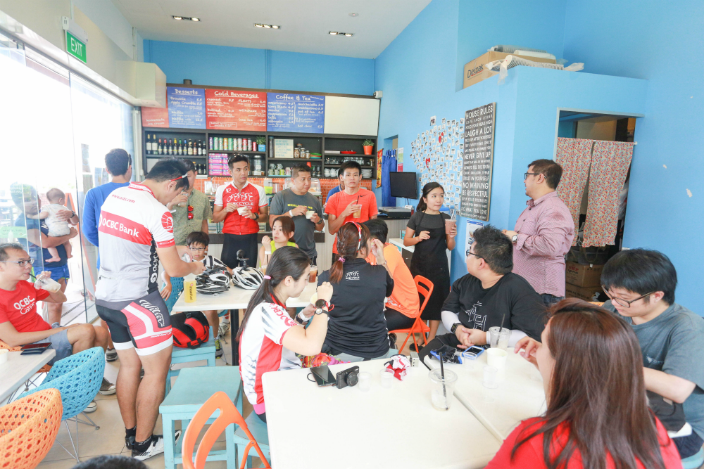 It is the only dessert cafe at the Punggol Settlement.
