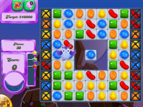 Level 45 of Candy Crush Dreamworld can be beaten.