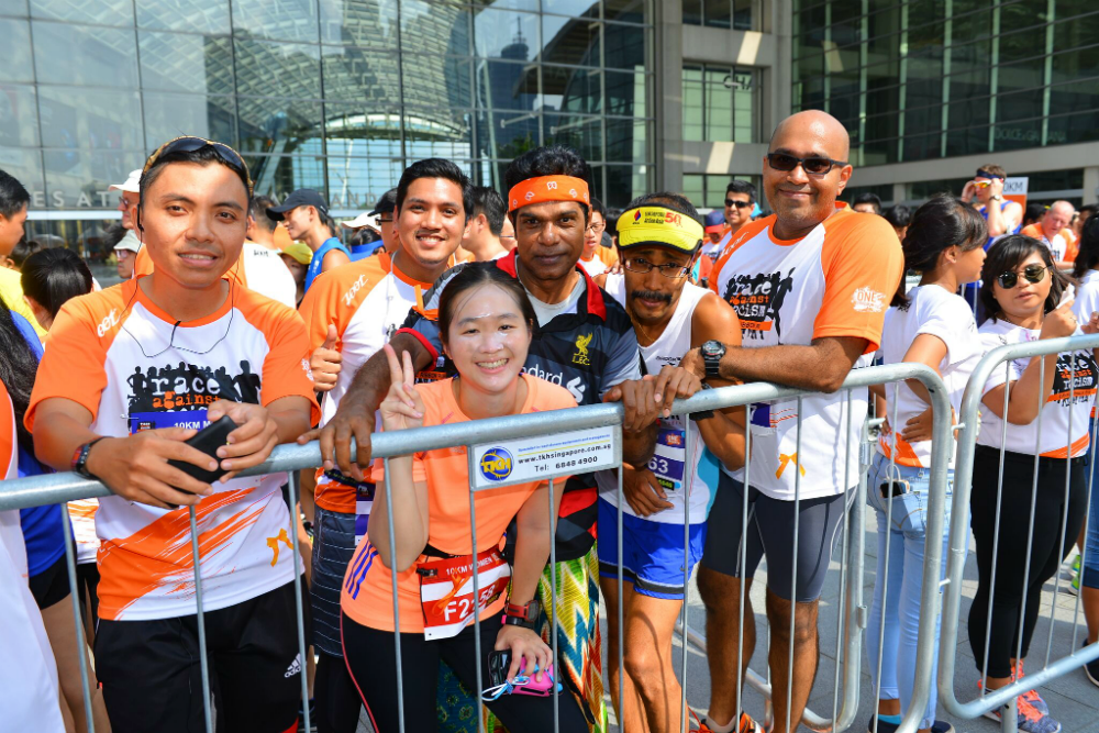 Orange Ribbon Run is an excellent platform for Singaporeans to come together and show their support for racial harmony.