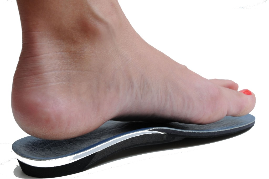 Using customised insoles may not necessarily be a solution. [Photo from www.londonrheumatology.co.uk]