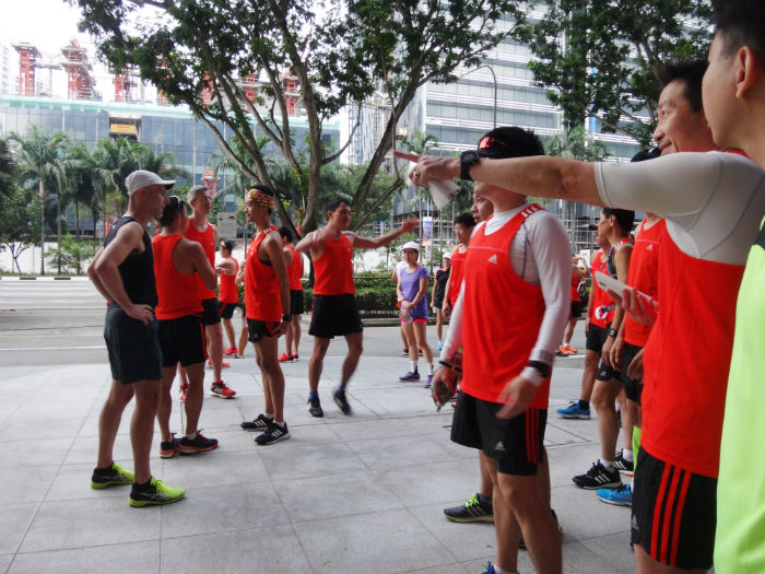 Pacer groups get themselves organised.