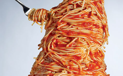 Do not engage in carbo loading obsessively. Photo by: pittsburgh-dietitian.com