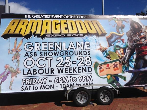 Armageddon was in Auckland last weekend!