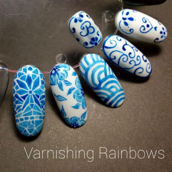 [Photo and Nail Art by Ann Lim]