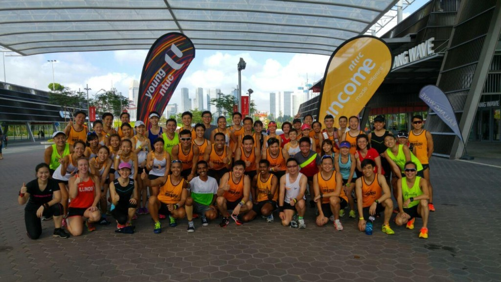 The first 'Run with Pacers' session took place yesterday.