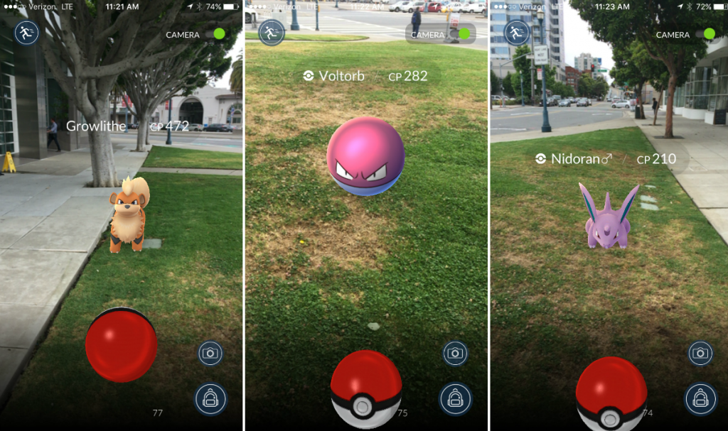 Pokemon Go is taking the world by storm. [Photo from www.theverge.com]