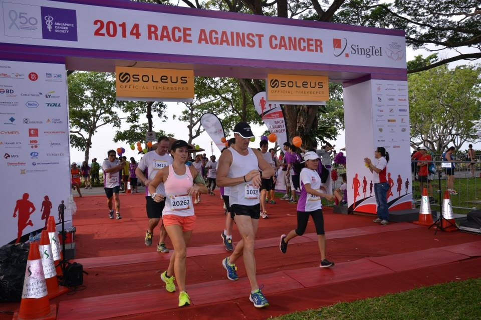 Cancer survivors should also continue to adopt an active lifestyle. [Photo from Just Run Lah]