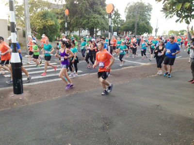Runners are still tacking the streets of Auckland. (Picture from Auckland Marathon).